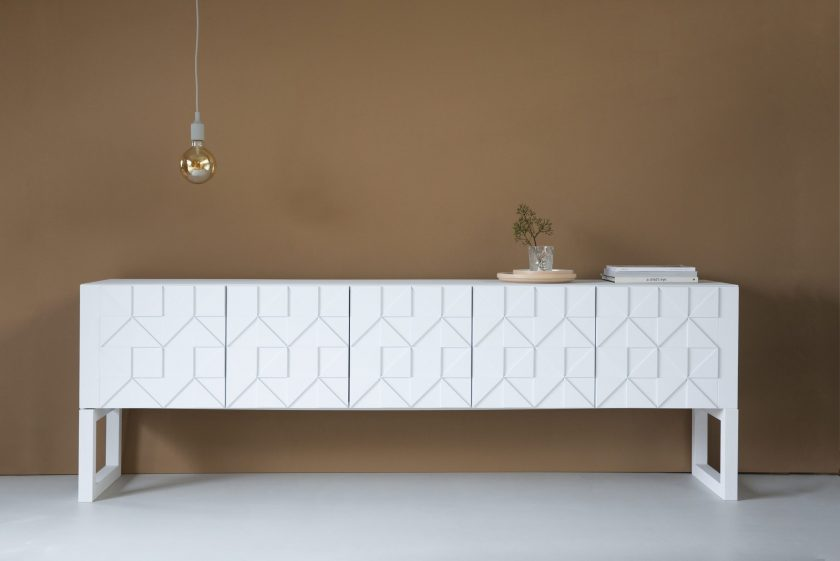 Sen Sen_Senna sideboard high_white
