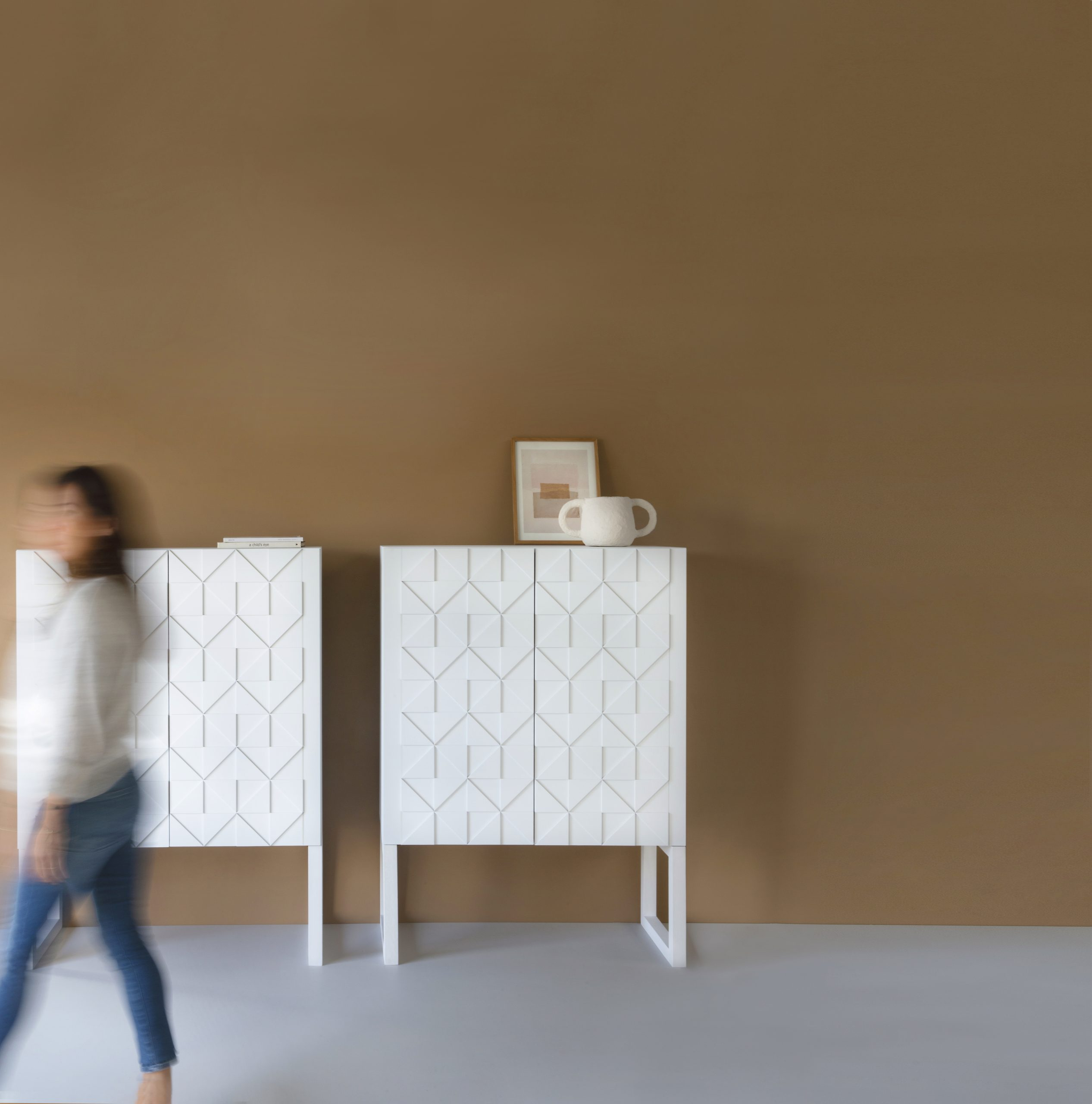 Sen Sen Design | Senna cabinet original whitest
